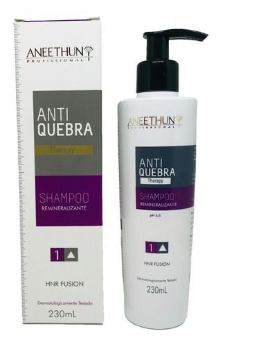 Aneethun AntiQuebra Therapy Shampoo Remineralizante 230ml