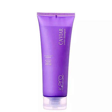K.Pro Caviar Color  Shampoo sem Sulfato 240ml