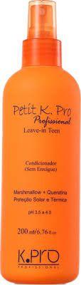 K pro Petit Profissional Teen Condicionador Leave-in 200ml