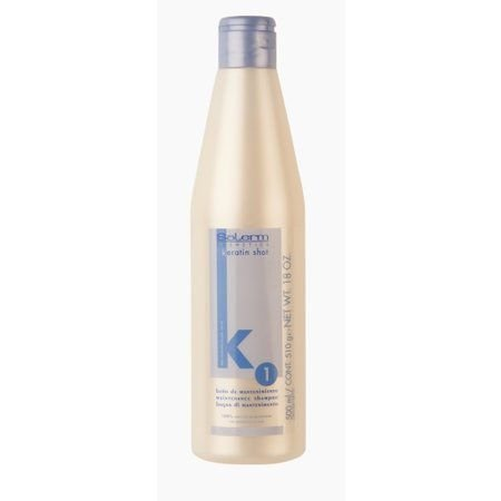Salerm Keratin Shot Maintenance Shampoo k1