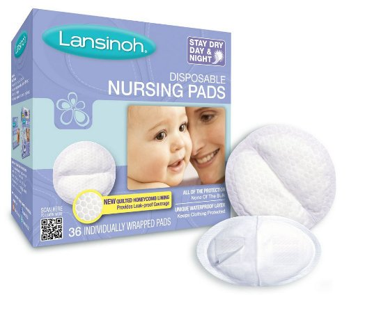 Absorvente para Seios Stay Dry C/ 36 unidades - Lansinoh