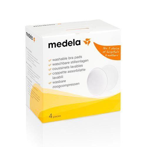 Absorventes Protetores para Seios Laváveis 4 unidades - Medela