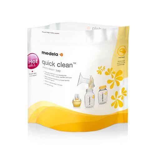 Sacos de esterilização para microondas Quick Clean c/ 5 unidades - Medela