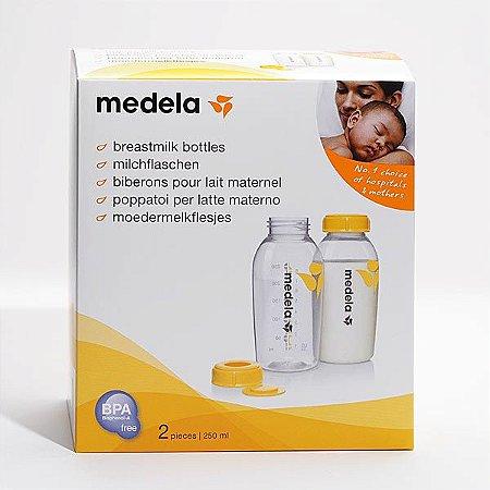 Potes para Armazenar Leite Materno 250 ml c/ 2 unidades - Medela