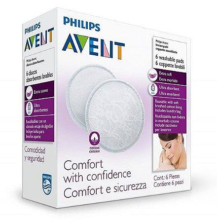 Absorvente Para Seios Laváveis - Philips Avent