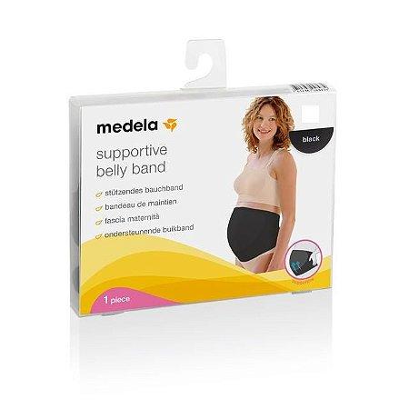 Faixa de Sustentação Gestante BellyBand Medela - Preta - Pequena