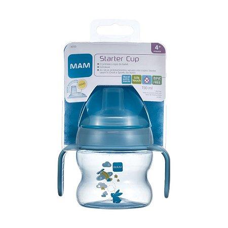 Copo MAM Starter 150Ml (4+ Meses) - Azul
