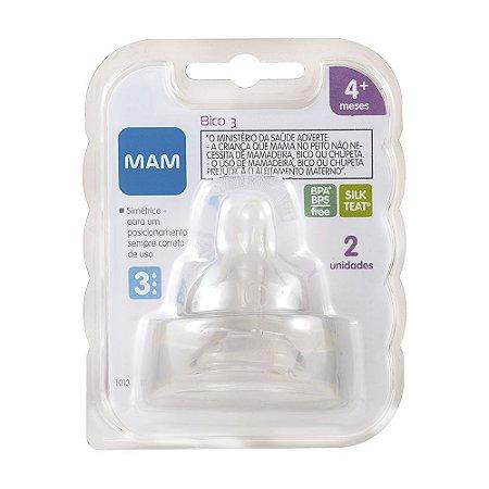 Bico 3 MAM - Fluxo Rapido (4+ Meses) Embalagem Dupla