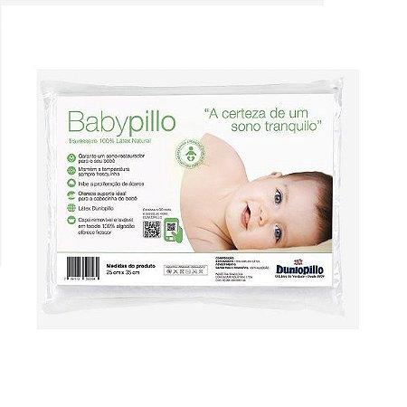 Travesseiro Latex Babypillo 25X35