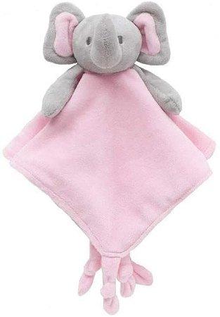Elefantinho Pelucia Naninha Rosa - Buba