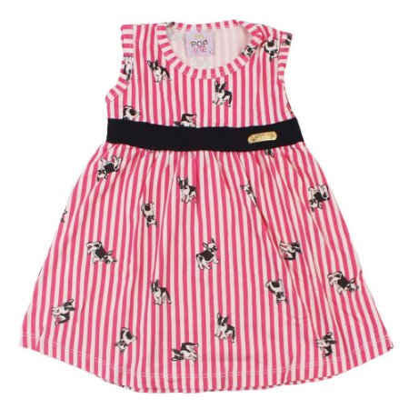 Vestido Pug Rosa Pop Love