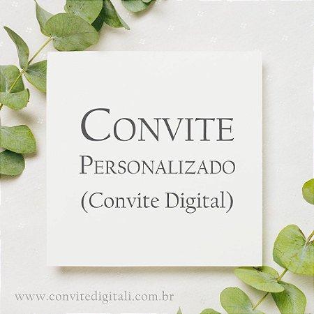 Convite Personalizado - Arte Digital