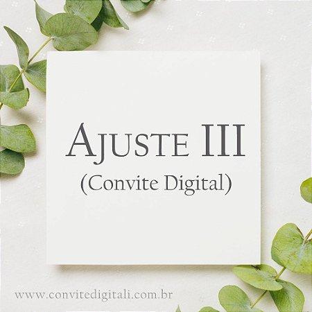 Ajuste Digital III