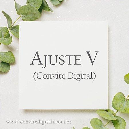 Ajuste Digital V
