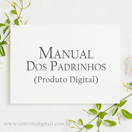 Manual dos Padrinhos - Arte Digital