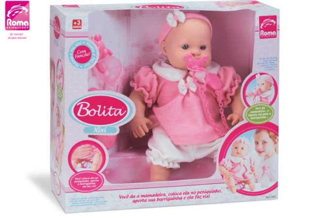 Boneca Bebê Bolita Xixi Ref.5383