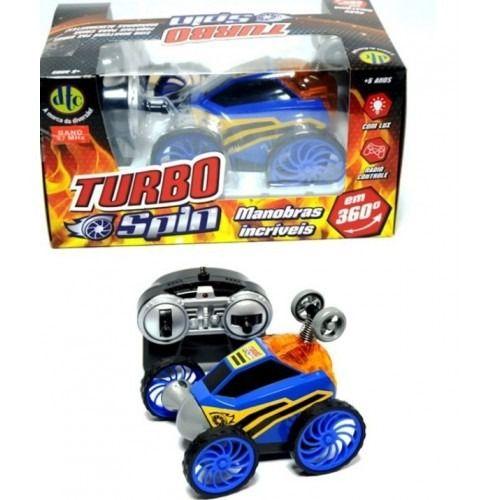 Carro Turbo Spin Controle Remoto Ref.4261