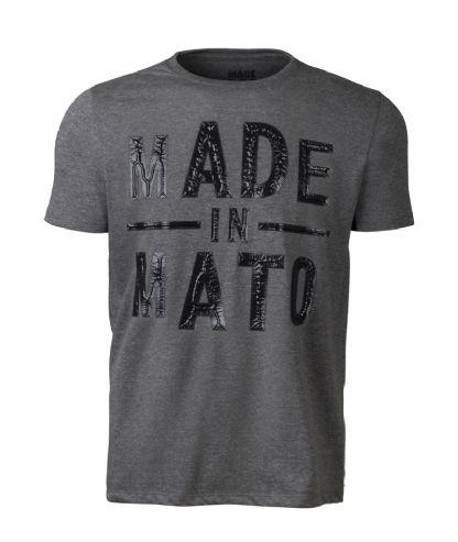 Camiseta Masculina Made in Mato - Mescla