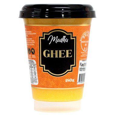 Ghee Original 180g   Madhu Ghee - Vencimento Outubro 2021