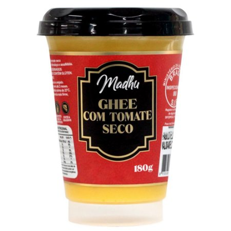 Ghee com Tomate Seco 180g | Madhu Ghee
