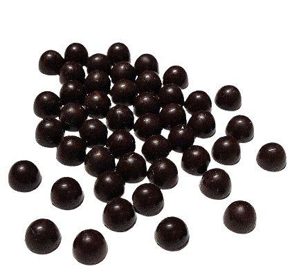 Gotas Chocolate 54% Cacau Gobeche - Com Maltitol/Sem leite/ Sem glúten/ Vegano  -  1kg