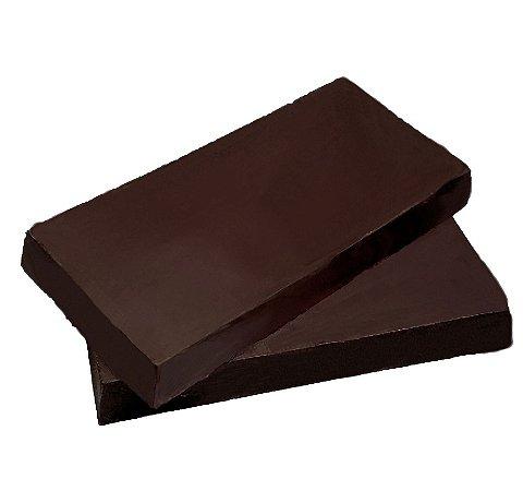 Barra Chocolate 80% Cacau Gobeche -Com Maltitol/ Sem leite/ Sem glúten/Vegano - 1,01kg