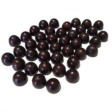 Gotas Chocolate 80% Cacau Gobeche -Com Eritritol / Sem leite/ Sem glúten/ Vegano - 1,01kg