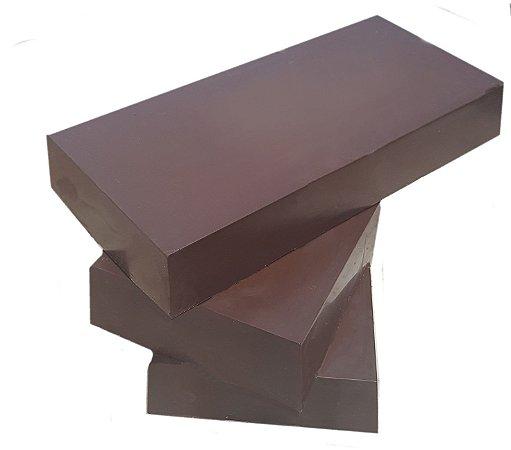 Barra Chocolate Ao Leite de Coco  Gobeche  - Com Maltitol/Sem glúten/ Vegano - 1 kg