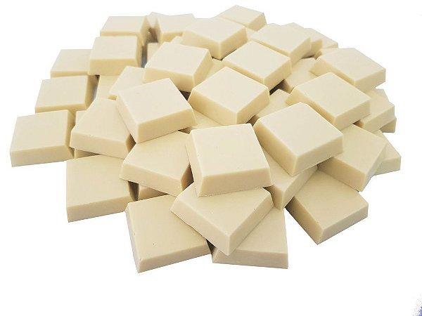 Tabletes Chocolate Gobeche Branco Ao leite de Arroz -Vegano/Sem Glúten/Com maltitol - 1kg