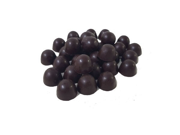 Gotas Chocolate  70% Cacau Gobeche -  Com Açúcar Mascavo/Sem Leite/Sem Glúten/Vegano - 1kg