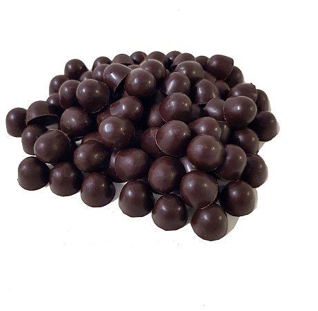 Gotas Chocolate 70% Cacau  Gobeche -  Sem Leite/Sem Glúten/Vegano/ Com Maltitol - 1 kg