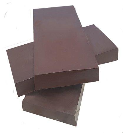 Barra Chocolate 70% Cacau Gobeche - com açúcar mascavo -Vegano/ Sem leite/ Sem glúten-  1kg
