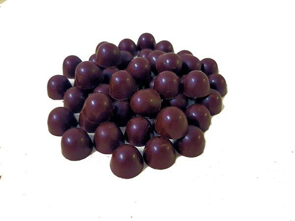 Gotas  Chocolate 80% Cacau  Gobeche - Sem Leite/Vegano/Com Açúcar Mascavo -  1 kg