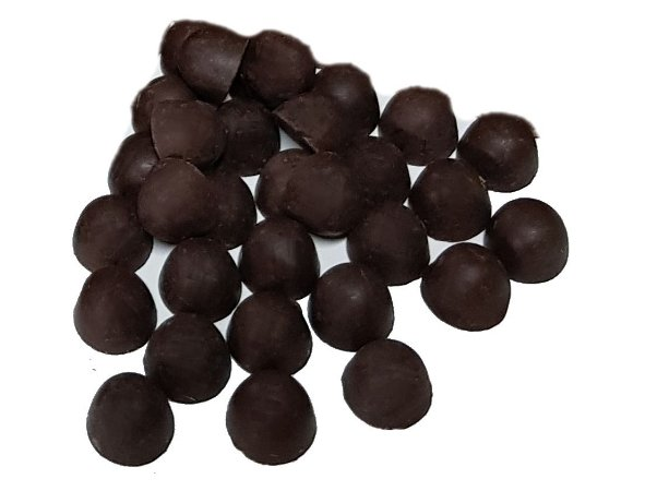 Gotas Chocolate 70% Cacau Gobeche - Com Eritritol / Sem Leite / Vegano/ Sem glúten - 1kg