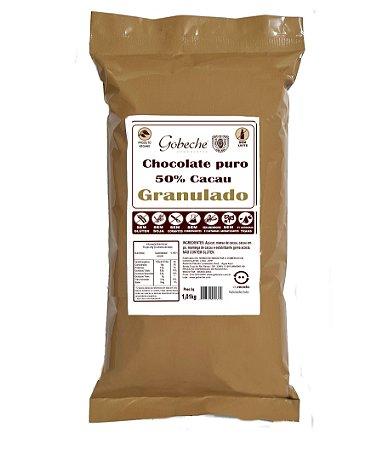 Chocolate Gobeche Puro 50% Cacau  Granulado Com Açúcar- 1kg