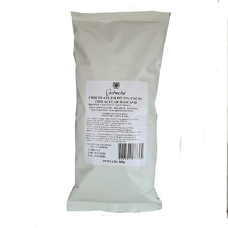 Chocolate Em Pó Gobeche 70% Cacau Com Açúcar Mascavo - 800g