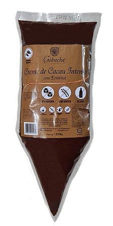 Creme de Cacau Intenso com Eritritol - Bisnaga 1 kg