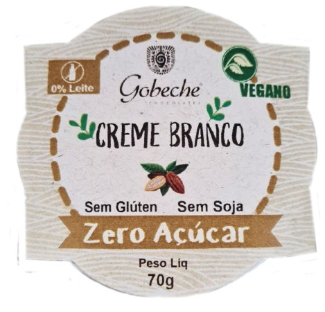 Creme Branco Zero Açúcar - pote 70g
