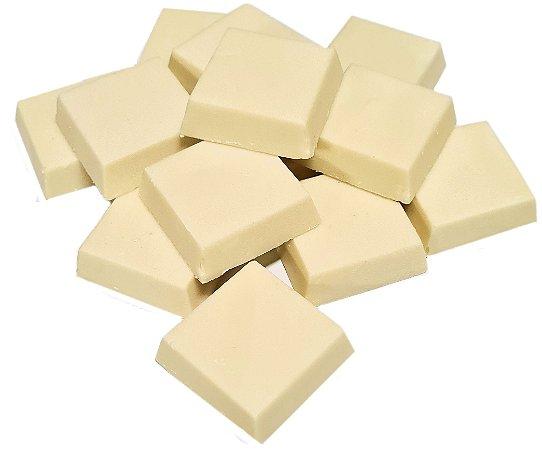 Tabletes Chocolate Branco ao Leite de Coco Sem Açúcar e Sem Adoçante