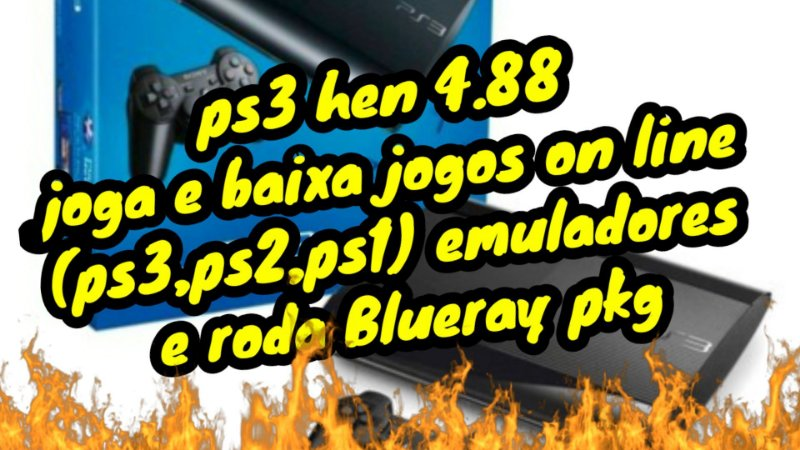 PLAYSTATION 3 MODELO SLIM COM 1 CONTROLE 250 GB Han 4.88 multiman 5 jogos internos on-line