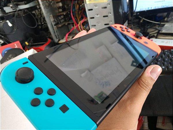 Nintendo SWITCH 32GB SEM JOGO COR azul com vermelho 32gb (mostruario sem adp joy com)