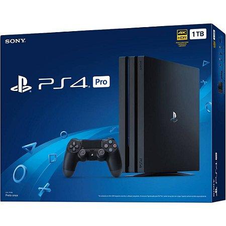 Playstation 4 PRO - 1TB - 4k Ultra HD novo modelo