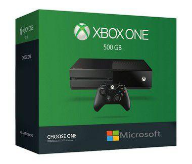 XBOX ONE FAT - Microsoft - 500 GB - Preto - Semi- Novo. (com 1 jogos promocionais)