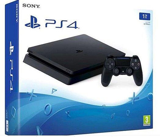 Playstation 4 SLIM  1 TB (OEM) POR APENAS R$2099+1 jogo de brinde a escolha (Disponível loja física).