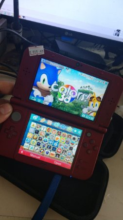New 3ds xl (oem) desbloqueado free shop