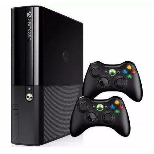 Xbox 360 - Microsoft - Ltu ou RGh com 2 controle + 1Brinde (desbloqueado) 110v