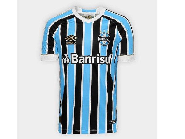 Nova Camisa Gremio 2018 2019 Azul e Preta Frete Grátis Lançamento ... 44b36d396a22c