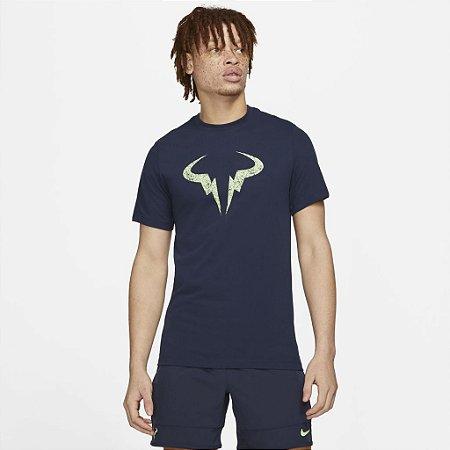 Camiseta Nike MC NKCT Rafa Nadal Azul Marinho