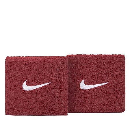 Munhequeira Nike Swoosh Perre-Poignets Vinho