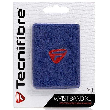 Munhequeira Tecnifibre Wristband comprida - Azul